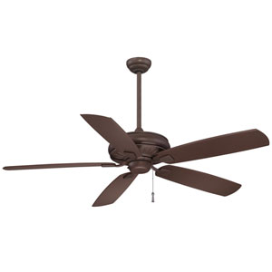 Sunseeker 60-Inch Ceiling Fan in Oil Rubbed Bronze with Five Blades