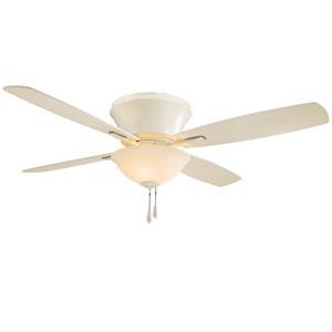 Mojo Ii Bone White 52-Inch Three-Light Ceiling Fan