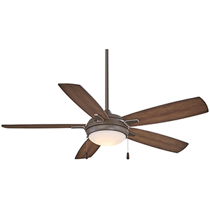 Lun-Aire Oil Rubbed Bronze 54-Inch LED Ceiling Fan