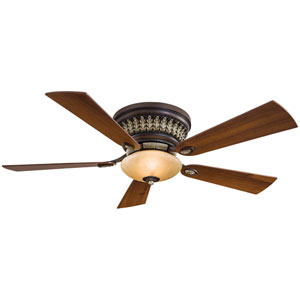 52-Inch Calais Belcaro Walnut Ceiling Fan