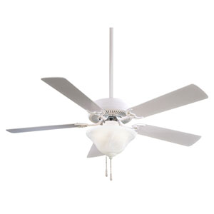 52-Inch Contractor White Ceiling Fan