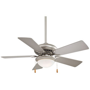 44-Inch Supra Brushed Steel Energy Star Ceiling Fan