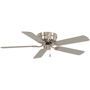 Mesa Brushed Nickel 52-Inch Ceiling Fan