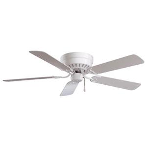 Mesa 52-Inch White Fan