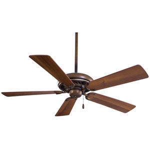 52-Inch Supra Belcaro Walnut Energy Star Ceiling Fan