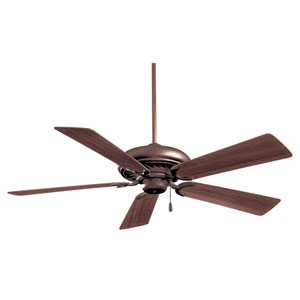 Supra 52-Inch Oil rubbed Bronze Ceiling Fan