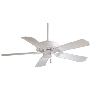Sundance 42 Indoor/Outdoor White Fan