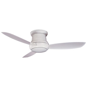 Concept II White 52-Inch Outdoor LED Ceiling Fan