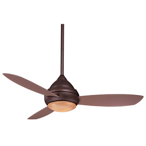 Concept I Oil Rubbed Bronze 52-Inch Outdoor LED Ceiling Fan