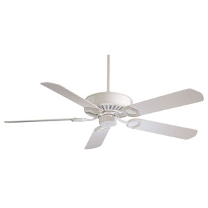 Ultra Max 54-In. White Ceiling Fan with White Blades