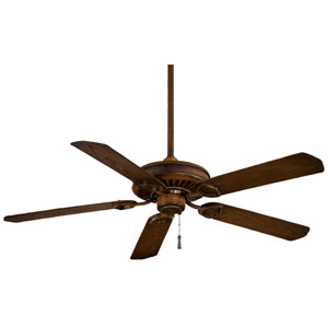 Sundowner 54-In. Mossoro Walnut Ceiling Fan with Mossoro Walnut Blades