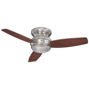 Traditional Concept Pewter 44-Inch Outdoor LED Ceiling Fan