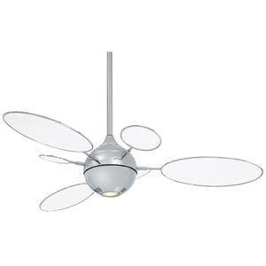 Cirque Polished Nickel 54-Inch Ceiling Fan