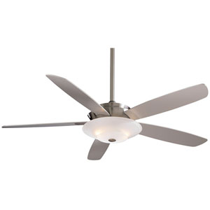 54-Inch Airus Brushed Nickel Ceiling Fan