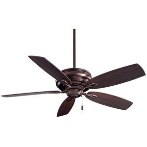 Timeless Dark Brushed Bronze 54-Inch Ceiling Fan