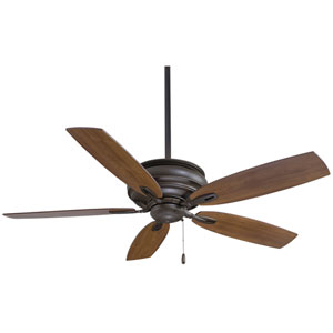 Timeless Oil Rubbed Bronze 54-Inch Ceiling Fan