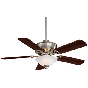 Bolo Brushed Nickel 52-Inch Ceiling Fan