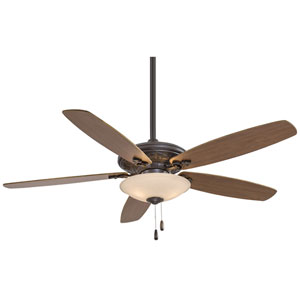 Traditional Mojo Oil Rubbed Bronze 52-Inch Three-Light Ceiling Fan
