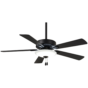 Contractor Coal 52-Inch LED Ceiling Fan