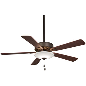 Contractor Oil Rubbed Bronze 52-Inch One-Light LED Fan