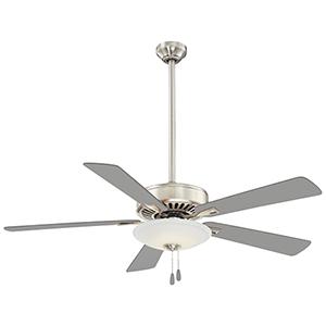 Polished Nickel 52-Inch LED Ceiling Fan