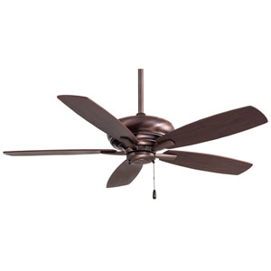 Kola Dark Brushed Bronze 52 Inch Blade Span Ceiling Fan