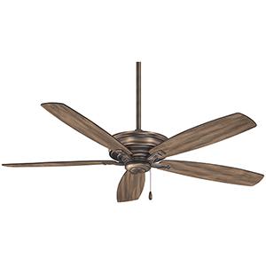 Kafe Heirloom Bronze 52-Inch Ceiling Fan