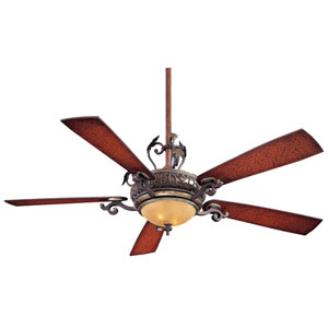 Napoli Sterling Walnut 56-Inch Ceiling Fan