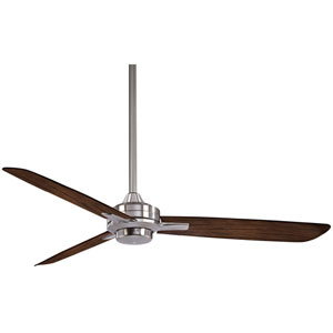 Rudolph Brushed Nickel 52-Inch Fan with Maple Blades
