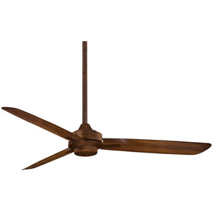Rudolph Distressed Koa 52-Inch Fan