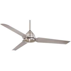 Java Brushed Nickel Wet 54 Inch Blade Span Ceiling Fan
