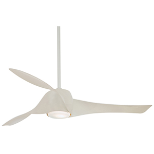 Artemis White 58-Inch LED Ceiling Fan