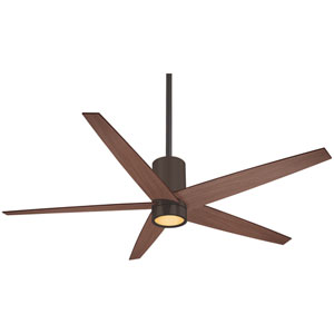 Symbio Oil Rubbed Bronze One-Light LED Ceiling Fan