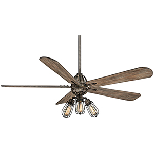 Alva Heirloom Bronze 56-Inch LED Ceiling Fan