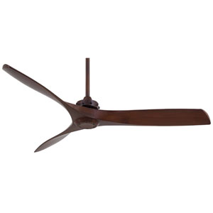 Aviation 60-Inch Ceiling Fan in Rosewood with Three Blades