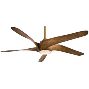 Artemis Distressed Koa Wood 62-Inch LED Ceiling Fan