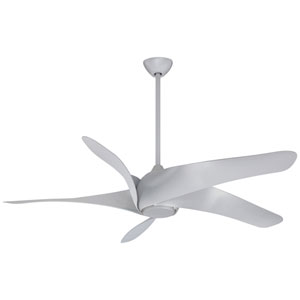 Artemis Silver 62-Inch LED Ceiling Fan