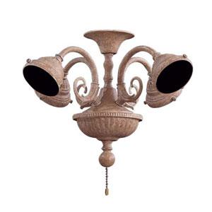 Scroll Ancient Stone Fan Light