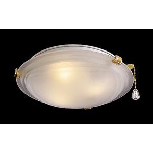 Low Profile Etch Glass Fan Light