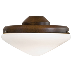 Mossoro Walnut Two Light Fluorescent Ceiling Fan Light Kit