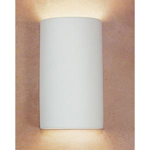 Gran Tenos Bisque Flush Wall Sconce