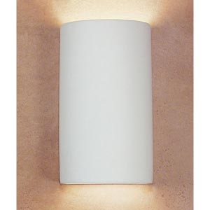 Great Tenos Bisque Flush Wall Sconce