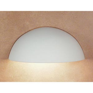 Great Thera Bisque Downlight Sconce