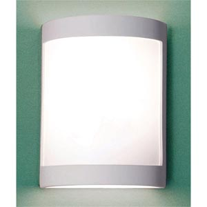 Lucidity Satin White Wall Sconce