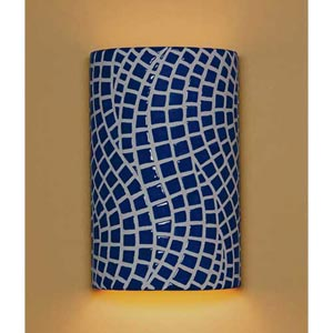 Channels Cobalt Blue Wall Sconce