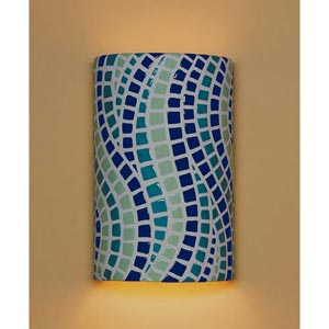 Channels Multicolor Wall Sconce