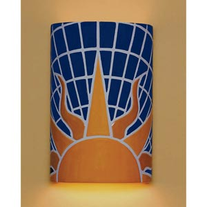 Solar Wall Sconce