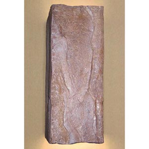 Stone Brown Wall Sconce