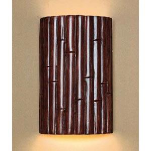 Bamboo Cinnamon Wall Sconce