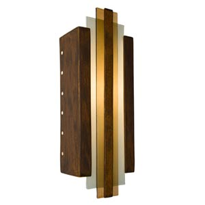 Empire Butternut and Caramel Sconce